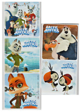 "25 Arctic Justice Stickers, Assorted, 2.5"" x 2.5"" each, Party Favors"