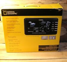 National Geographic Professional Digital Wireless Home Weather Station LCD +