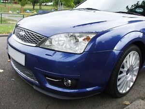 For Ford Mondeo MK3 3 Front Bumper Cup Chin Spoiler Lip Sport Valance Splitter_