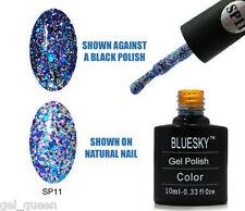 BLUESKY SUPERSTAR COLLECTION SP11 UV LED Top Base Matte Soak Off Nail Gel Polish
