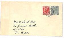 VV81 1937 Canada TORONTO RAILWAY CDS Postal Stationery Card {samwells-covers}