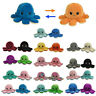 Double-Sided Flip Reversible Octopus Emotional Face Changing Plush Toy Dolls