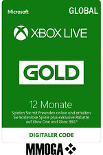 Xbox Live Gold Mitgliedschaft Card 12 Monate Microsoft Xbox 360/One [GLOBAL Key]