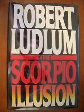 Robert Ludlum The Scorpio Illusion 1st SIGNED