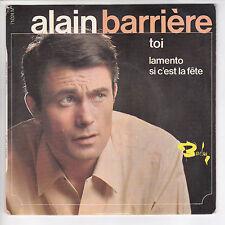 """BARRIERE Alain  Vinyl 45 tours EP 7"""" TOI - BARCLAY 71024 Languette F Reduit RARE"""