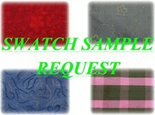 Swatch Sample Request!For Silks sold by SilksUnlimited.Low Flat Shipping Charges
