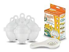 Eggies - 6 moules cuit oeuf micro-onde bain-marie - Vu à la tv - cuisson œufs