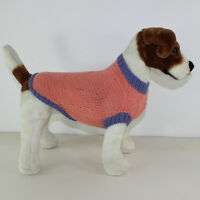 PRINTED KNITTING INSTRUCTIONS - SIMPLE ARAN DOG COAT KNITTING PATTERN