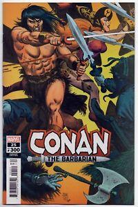 Conan The Barbarian #25 Marvel Comics Toth Hidden Gem 1:50 Variant