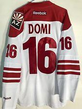 Reebok Premier NHL Jersey Arizona Coyotes Max Domi White sz L