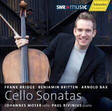 Johannes Moser - Cello Sonatas [New CD]