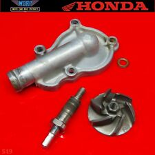 2005 Honda CRF450 Water Coolant Pump Impeller Shaft Gear Housing Cover CRF450
