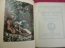 Camille Lemonnier AU CŒUR FRAIS DE LA FORET bois couleurs de Barthélemy