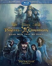 PIRATES OF THE CARIBBEAN ~DEAD MEN TELL NO TALES ~Blu-Ray + DVD + Digital *NEW!