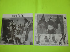 REPLACEMENT COVER ONLY / MENTORS SELF TITLE VG+ PUNK KBD