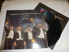 CARRERAS DOMINGO & PAVAROTTI - In Concert - 1990 UK 15-track vinyl LP