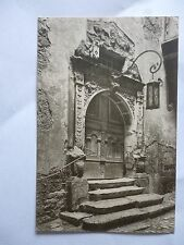Postcard ROTHENBURG O.T. portal in the Old Town Hall (No 593)