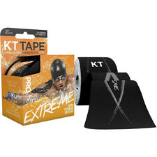 "KT Tape Pro Extreme 10"" Precut Kinesiology Sports Roll - 20 Strips - Black"