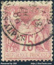 FRANCE SAGE N° 81 AVEC OBLITERATION COTE 150€