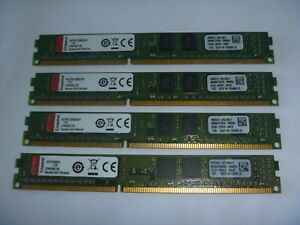 Kingston 4GB ( 1 x 4 GB) RAM Memory 1333 Mhz  Desktop DDR3 PC3 10600u 1.5V LP