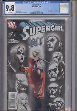 Supergirl #4 CGC 9.8 2006 DC  Comic: featuing Lex Luthor & JLA :  NEW CGC Frame