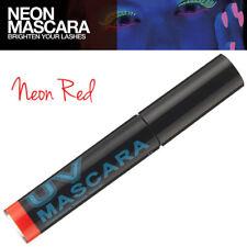 Stargazer Makeup Neon UV Fine Streak Hair Mascara Wash Out Instantly - Red