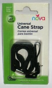 Nova Universal Cane Strap Fits All Canes New In Package