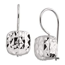 Silpada Sterling Silver Rounded Cube Drop Earrings Fashion Jewelry Watches