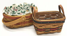 2 Longaberger Baskets 1999 Basket