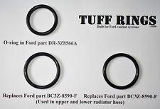 Replacement O-Rings for Ford DR-3Z8566-A & 2x BC3Z-8590-F F150 coolant leak