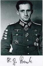 German Knights Cross PANZER destroyed 20+ Russian Tanks Hans-Georg Borck WWII