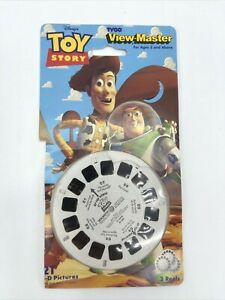 Disney Pixar Toy Story View-Master TYCO 3 Reels 21 Pictures 1995 Pre Owned Buzz