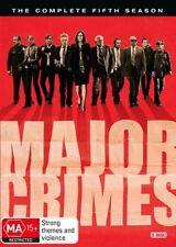 Major Crimes : Season 5 : NEW DVD