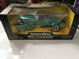 Ertl 1935 Auburn 851 American Muscle Millennium 1:18 Scale Diecast Green #32232