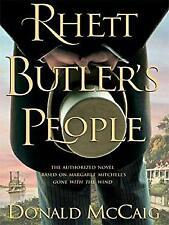 Rhett Butler's People Hardcover Donald McCaig