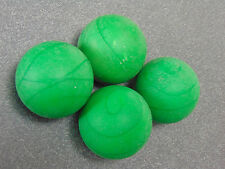 4 Used Green Skee Ball Balls. Size 3 Inch. Great Condition. 8oz. each. Nice