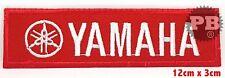 YAMAHA Racing Formula 1 Biker Sew/Iron on embroidered patch UK Seller