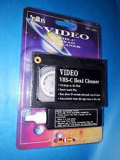 Pulisci testina video per videocamera VHS-C cassetta di pulizia con liquido VHSC