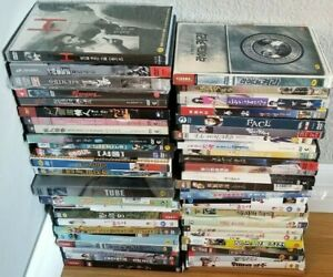 Korean DVDs $6 Each Region 3  English Subs, You Pick, Combined Shipping $3