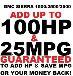 #1 Tuner Performance Chip GMC Sierra 1500/2500/3500 ADD POWER 4.3 5.3 6.2 VORTEC