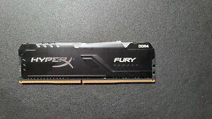 Kingston HyperX Fury RGB DDR4 8Gb(1 stick) desktop memory