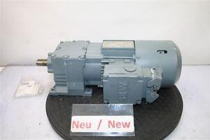 Sew 0,37 Kw 60 Min Gear Motor R17 DT71D4/BMG/ Hr / ASB8 Eurodrive Top Gearbox
