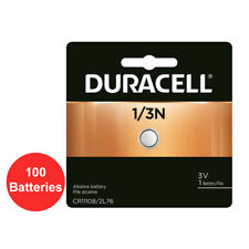 Lot of 100 Duracell 1/3N 2L76 CR1/3N DL1/3N K58L 3V Battery
