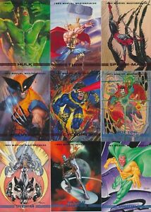 1993 Skybox MARVEL MASTERPIECES Base & Promo Pick From List