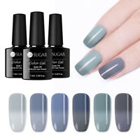 UR SUGAR 7.5ml Soak Off UV Gel Polish Thermal Gray Color Changing Nail Varnish