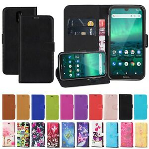 Case For Nokia 5.3, 1.3 2.3 2.4 3.4 5.4 Leather Wallet Flip Stand Magnetic Cover