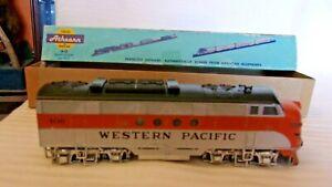 HO Scale Stewart F3A Diesel Locomotive Western Pacific #406 Custom Weathered