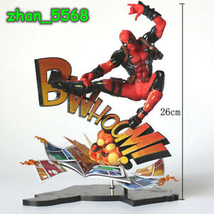 Marvel Superhero Deadpool Breaking The Fourth Wall Ver. PVC Figure New In Box