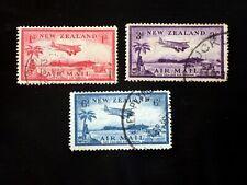 New Zealand SG570-572 Air Mail Set, FU (B2389)