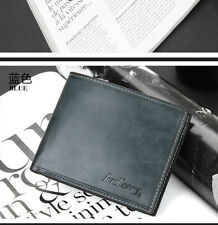 Fashion men's leather wallet credit/ID card holder Slim coin Wallet QK